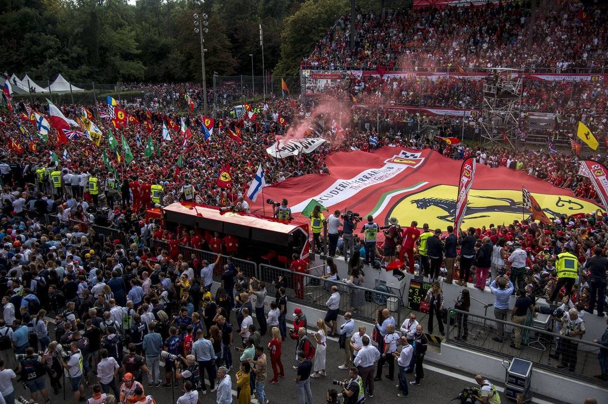 Marea rossa a Monza 2018