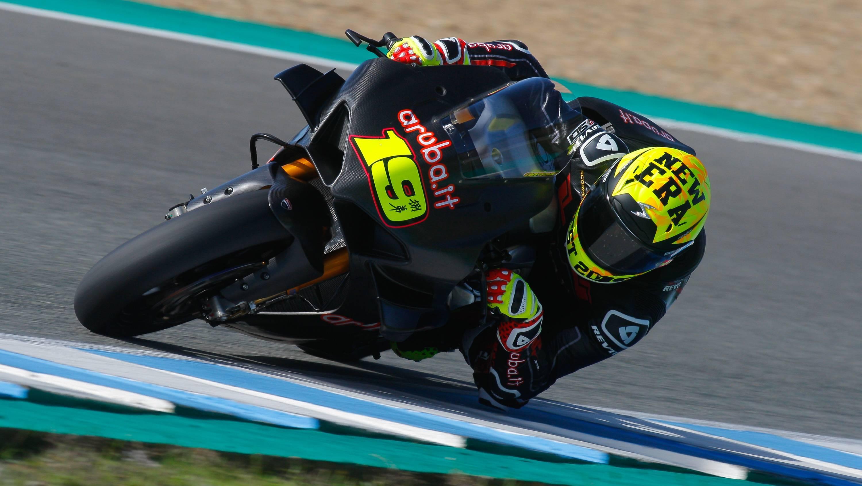 Bautista Ducati SBK TEST
