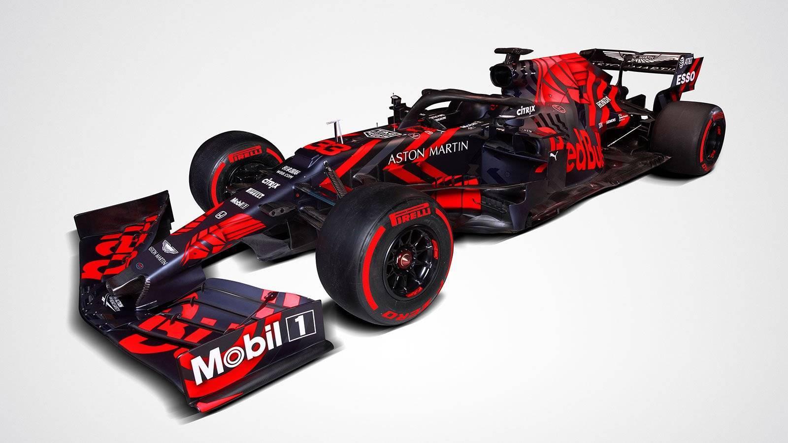 Presentazione Red Bull RB15
