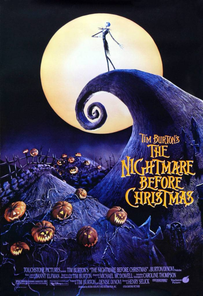 poster di Nightmare before Christmas