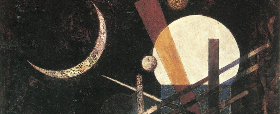 Wassily Kandinsky, dettaglio dell'opera Sichel, 1926, Milano, collezione privata.