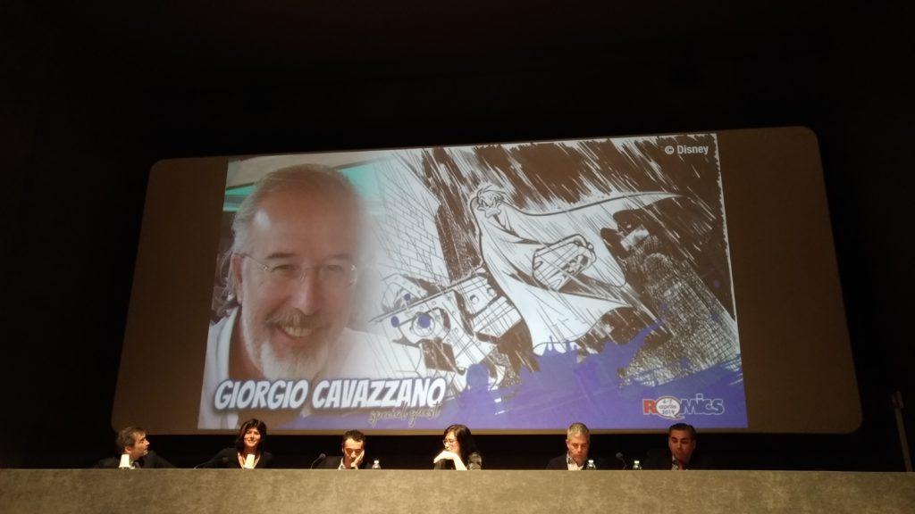 (Giorgio Cavazzano al Romics di aprile 2019)