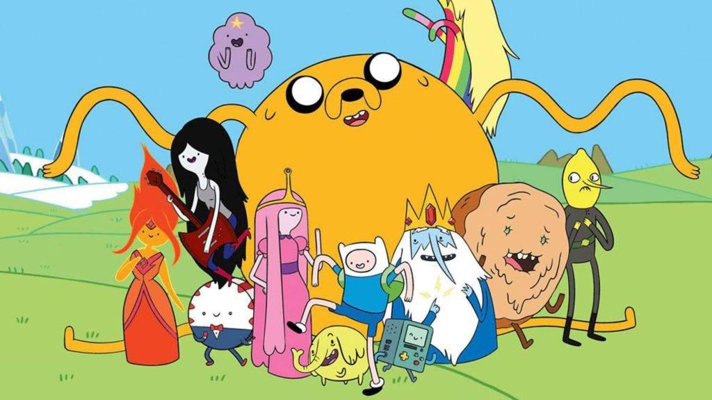 (Il Romics di aprile 2019 celebra Adventure Time andato in onda 9 anni fa)