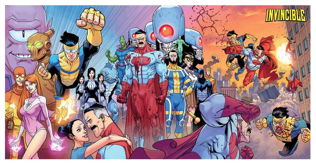 """(Il disegnatore di """"Invincible"""" al Romics di aprile 2019. Credits: Comic Vine)"""