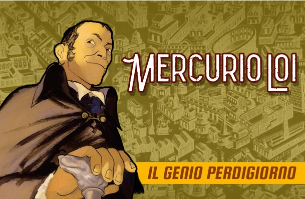 (L'autore di Mercurio Loi al Romics di aprile 2019. Credits: Sergio Bonelli Editore)