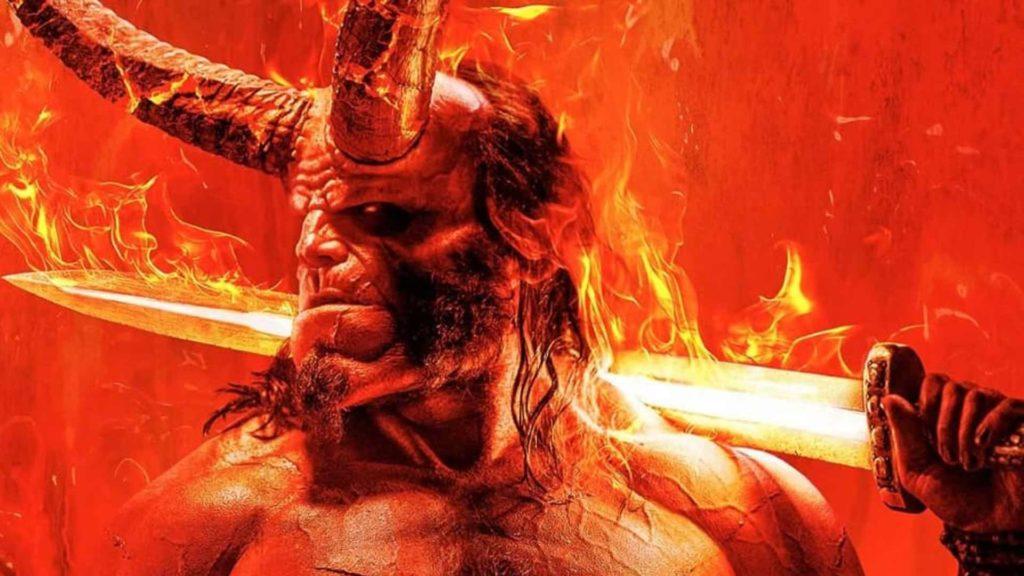 (Hellboy al Romics di aprile 2019)