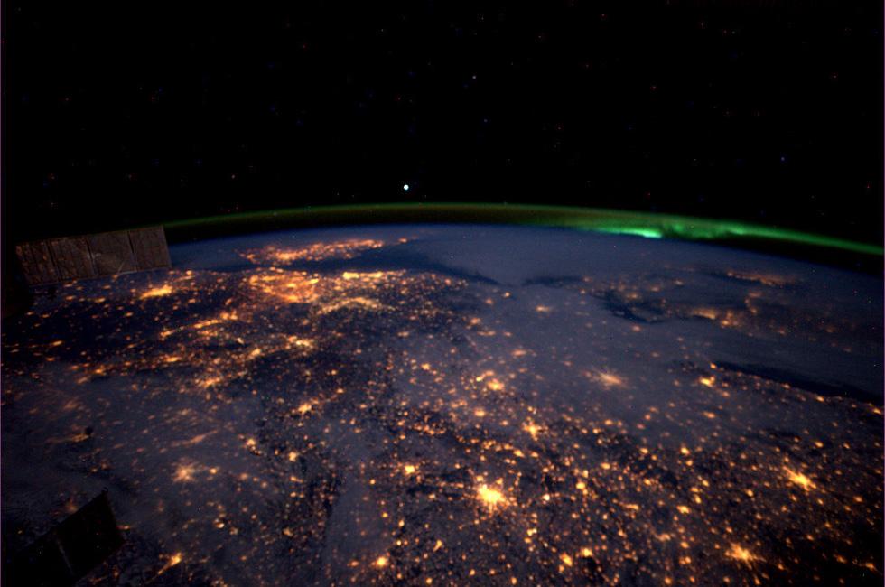 La Terra dallo spazio. (foto dal web)
