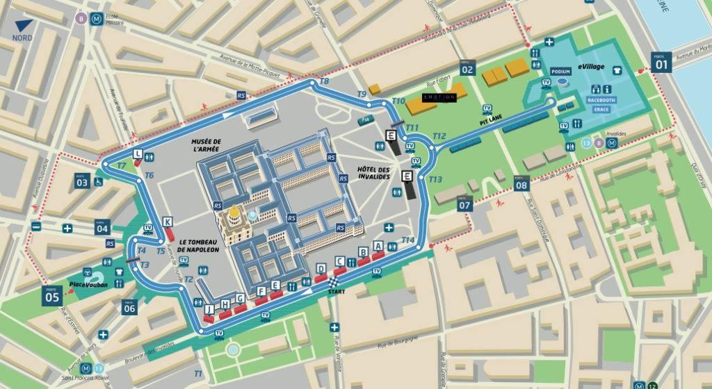 Formula E ePrix Parigi Gilets Jaunes