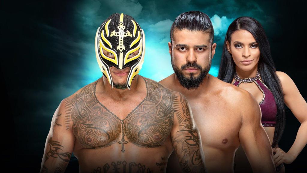 Mysterio vs. Andrade