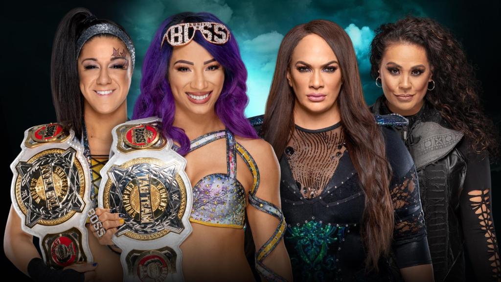 Boss n'Hug Connection vs. Nia Jax e Tamina