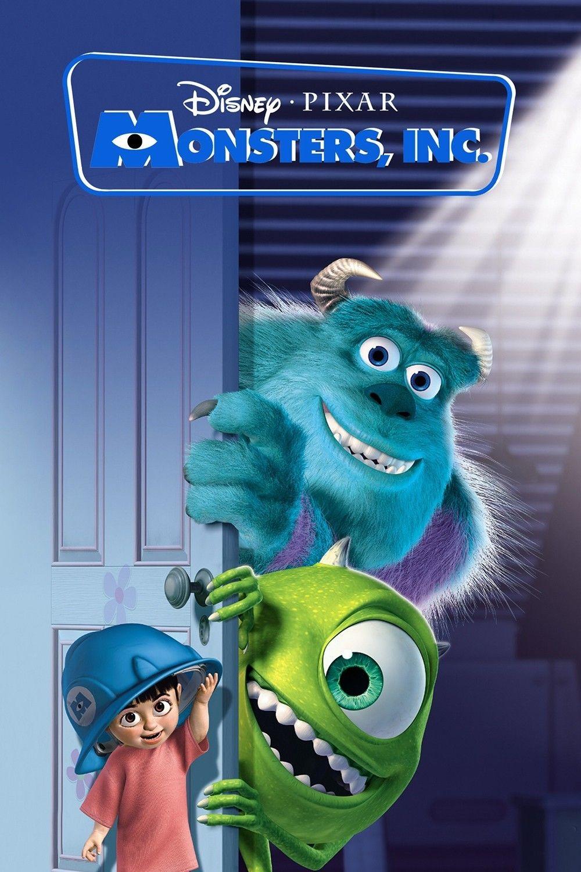 "Poster di ""Monsters & Co."" il film a cui si ispira la nuova serie ""Monsters at work""."