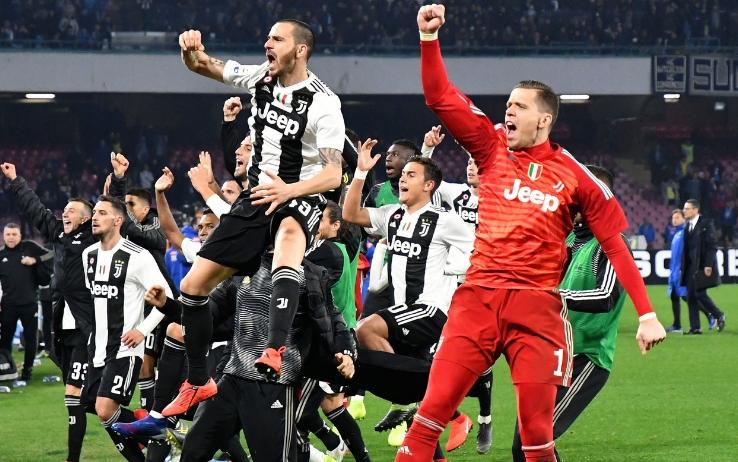 Juventus pronta a festaggiare l'ottavo titolo nazionale consecutivo Fonte: Superscudetto
