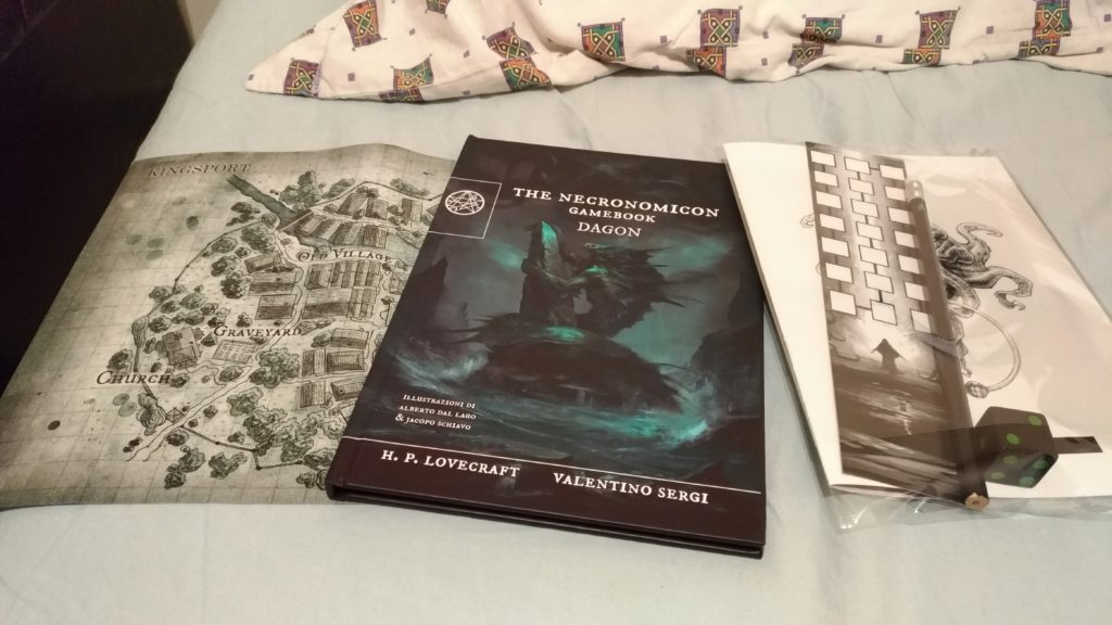 (The Necronomicon Gamebook - Dagon al Play Festival del gioco 2019)