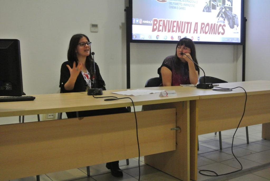 (Conferenza di Elisabetta Di Minico al Romics XXV di aprile 2019)