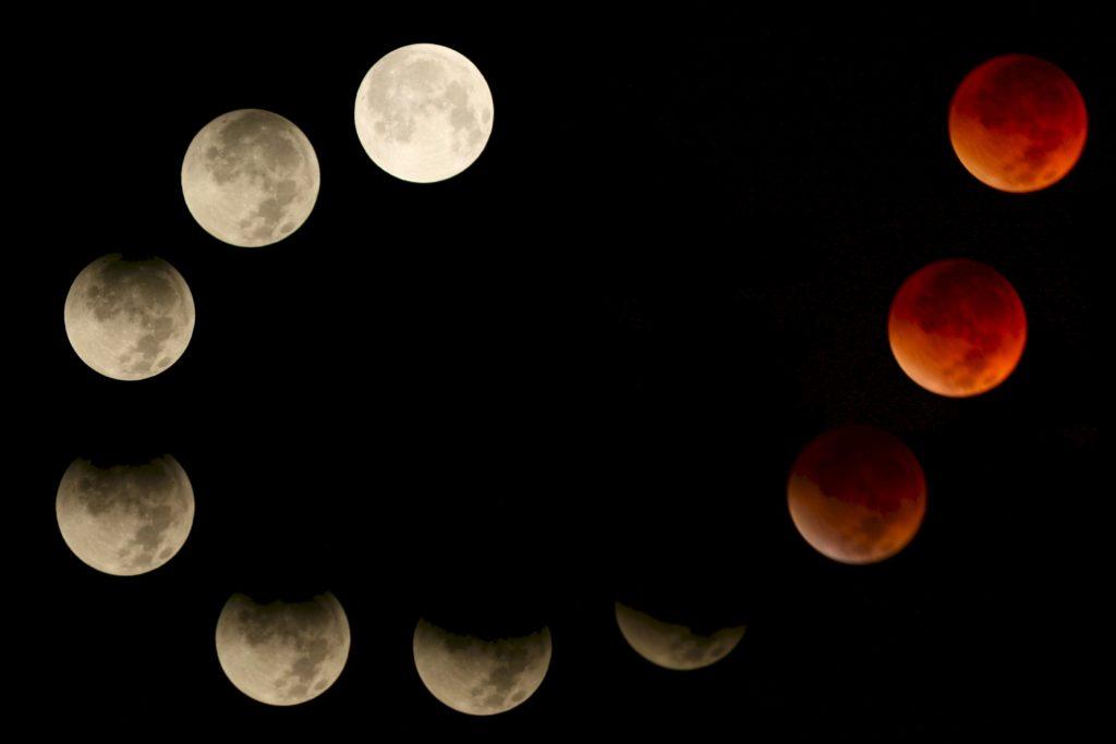 L'eclissi di Superluna