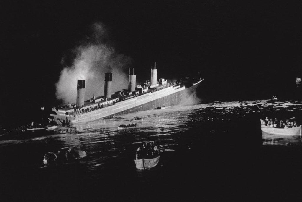 Il naufragio del Titanic - immagine presa del web
