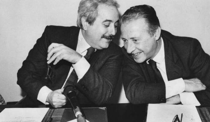 Giovanni Falcone e Paolo Borsellino. (immagine dal web)