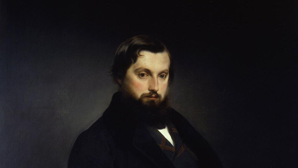 Francesco Hayes, Ritratto di Gian Giacomo Poldi Pezzoli, 1851.