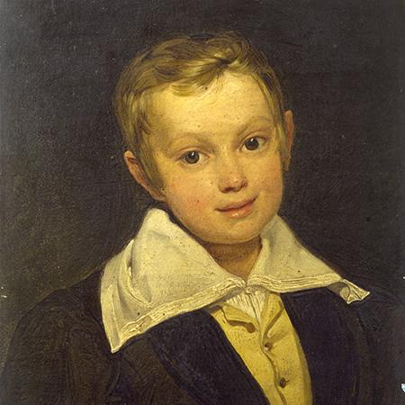 Giuseppe Molteni, Ritratto di Gian Giacomo Poldi Pezzoli bambino, 1830 ca., Milano Museo Poldi Pezzoli (immagine dal web) Poldi Pezzoli: un romantico a Milano.