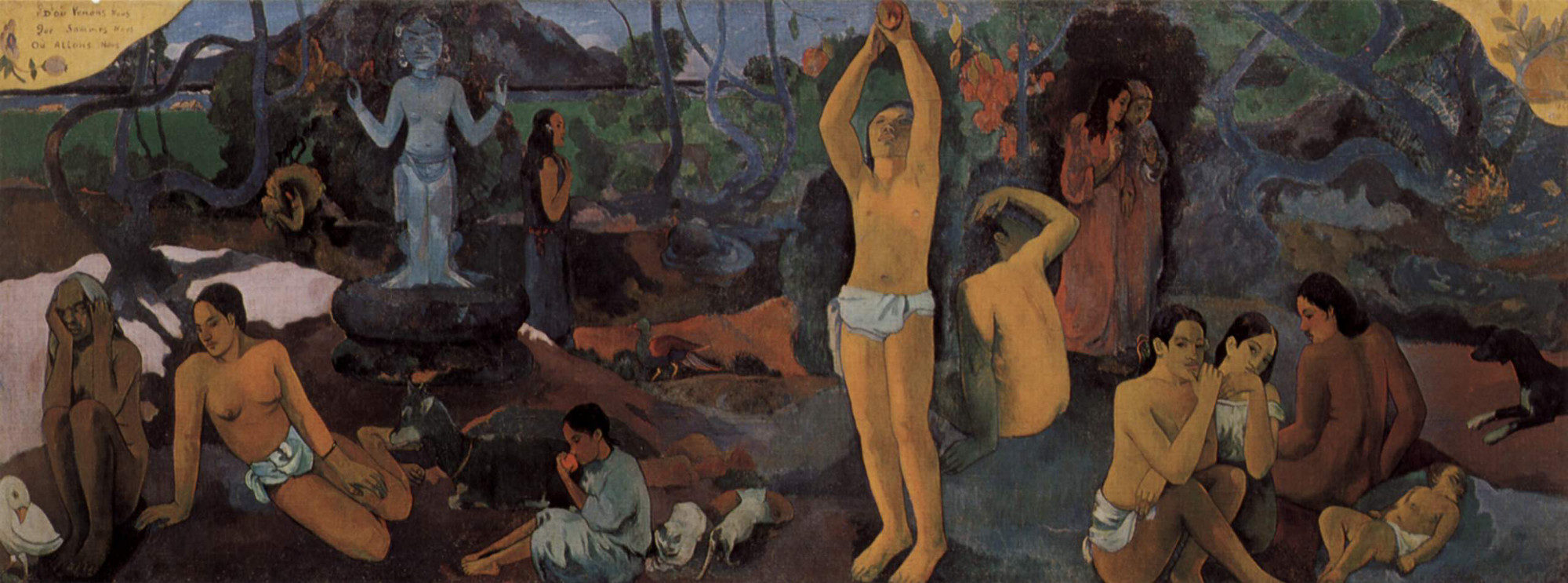 Paul Gauguin- Da dove veniamo? Chi siamo? Dove andiamo?