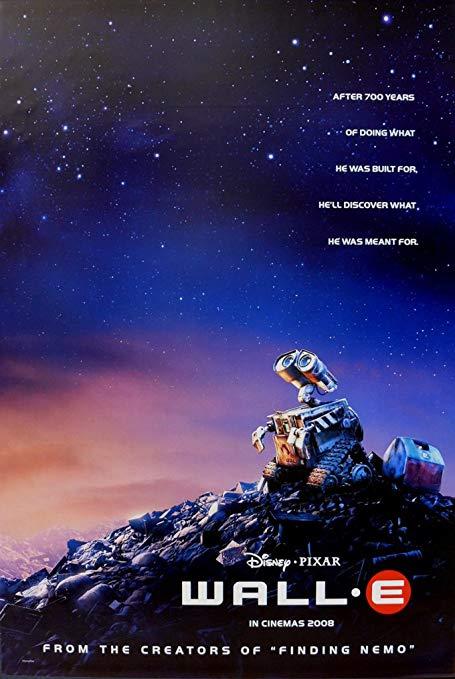 """Poster del film Pixar """"Wall-e""""."""