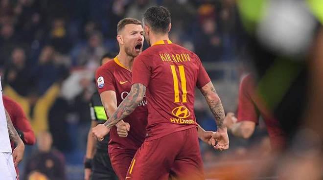 Roma-Dzeko-Kolarov