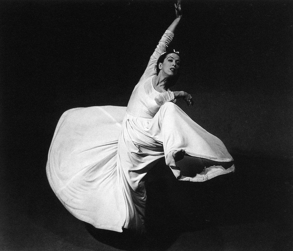 Martha Graham (foto dal web). MMI Today | La Partenope dei cieli