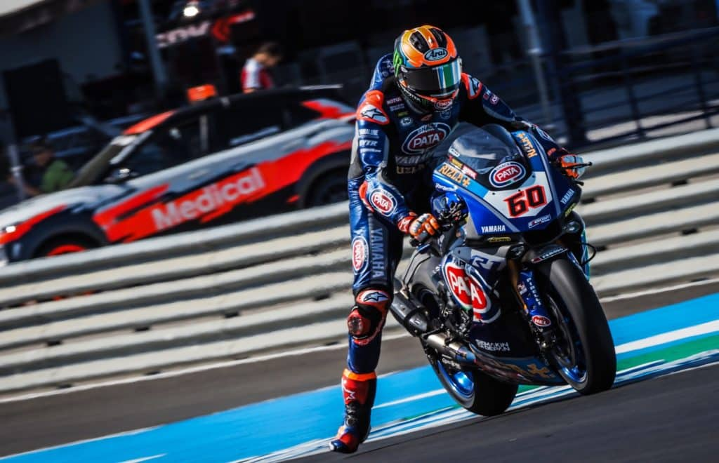 SBK Superpole Jerez 2019 Van der Mark