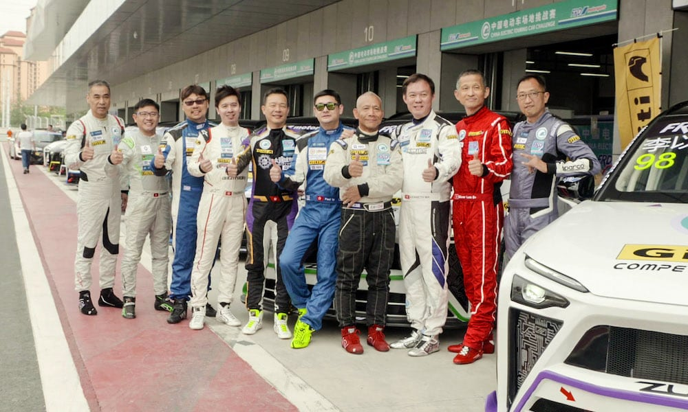 China Electric Touring Car Challenge Piloti