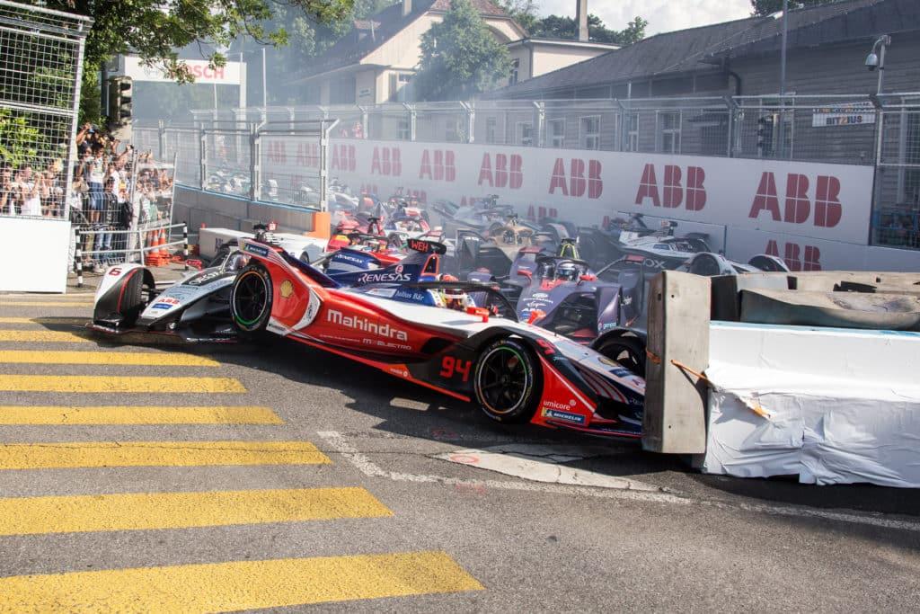 Pascal Wehrlein crash ePrix Berna 2019