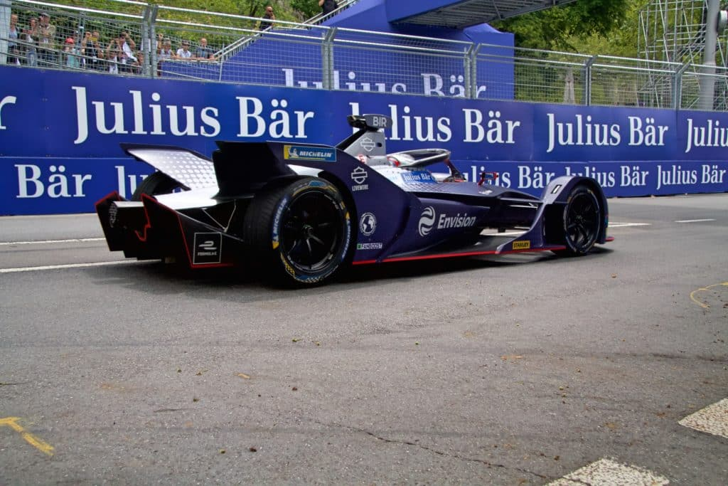 Gara ePrix Berna 2019 Sam Bird Envision Virgin Racing