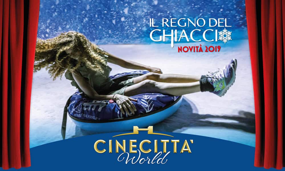 Cinecittà World - Il Regno del Ghiaccio (foto dal web)