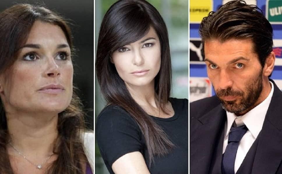 """""""Il triangolo Alena Seredova, Ilaria D'Amico, Gigi Buffon – Photo Credit: www.letteradonna.it  alena seredova"""