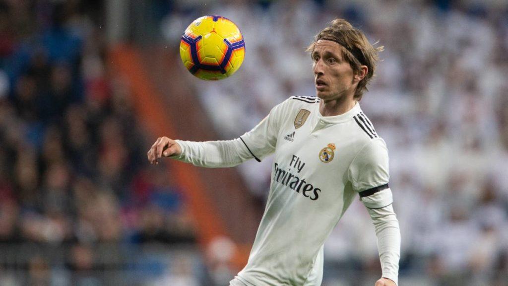 Modric,centrocampista real