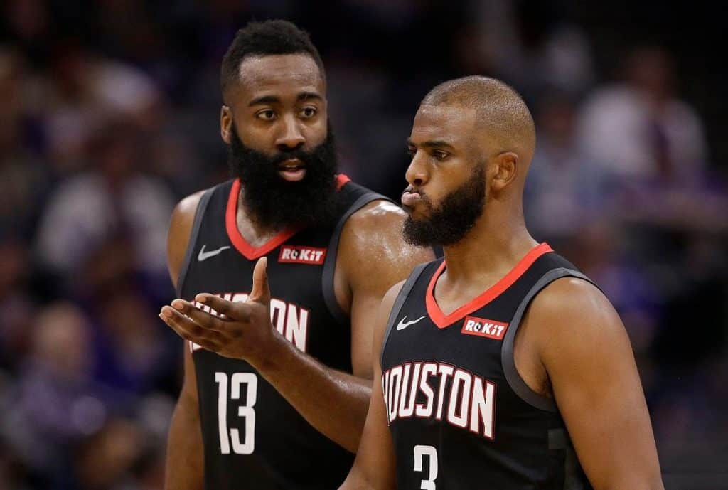Apparentemente, una delle tante discussioni tra Harden e Paul durante la passata annata cestistica NBA