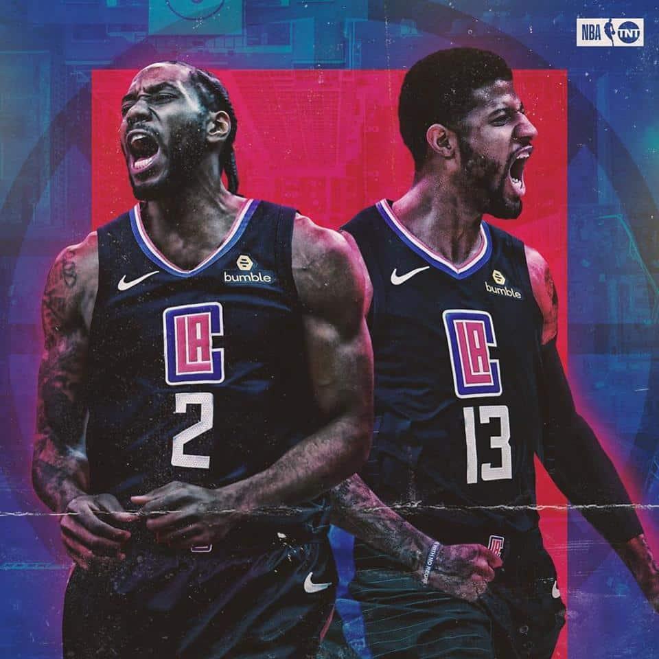 Uno dei tanti fotomontaggi apparsi in rete che ritraggono la nuova coppia dei Clippers