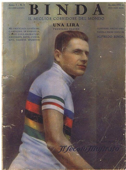 Alfredo Binda in prima pagina, su Il Secolo Illustrato