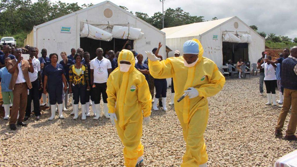 Due operatori sanitari nella zona orientale del Congo (Fondazione Missio)