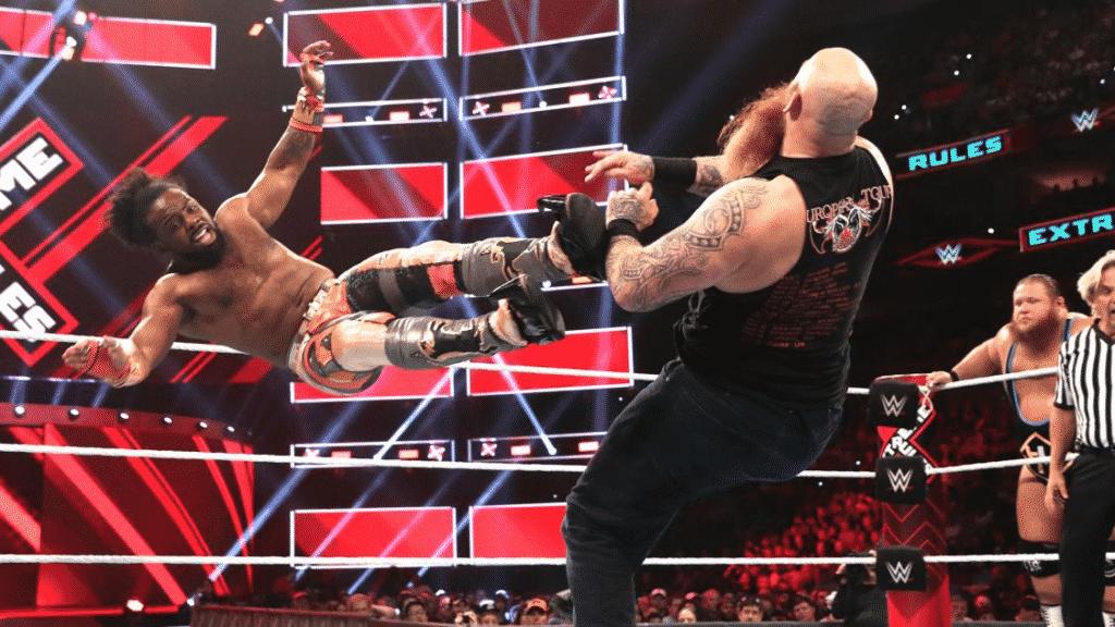 Three Way tag team match