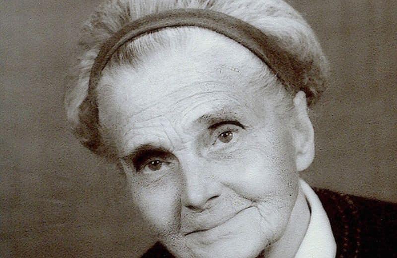 La dottoressa Catherine Kousmine (photocredit www.curenaturali.it)