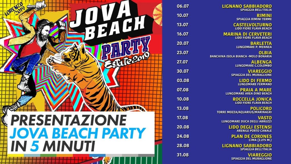 Jovanotti Beach Party (foto dal web)