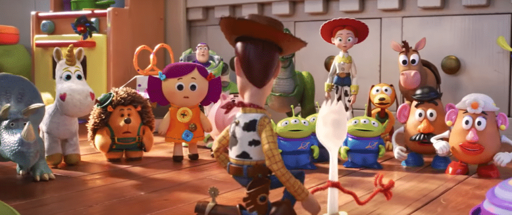 I personaggi di Toy Story 4