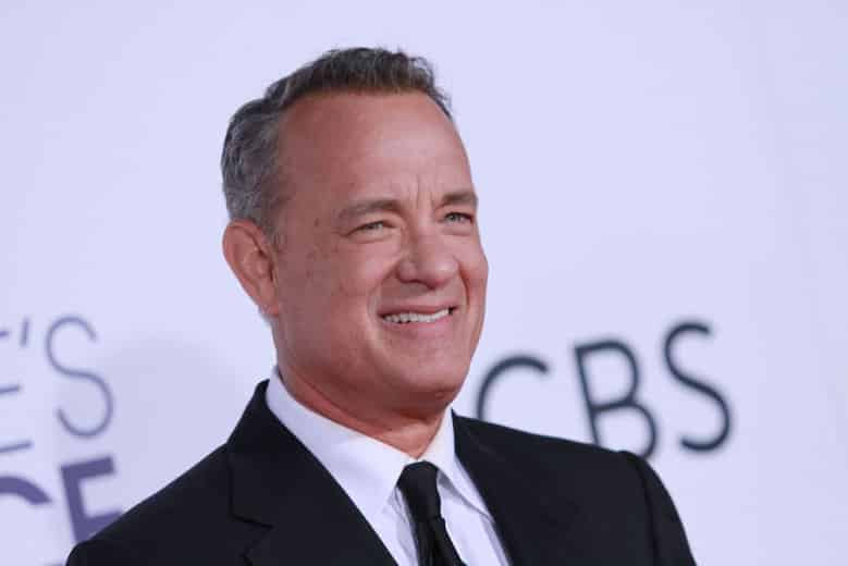 Tom Hanks. 43rd Annual People's Choice Awards, Arrivals, Los Angeles