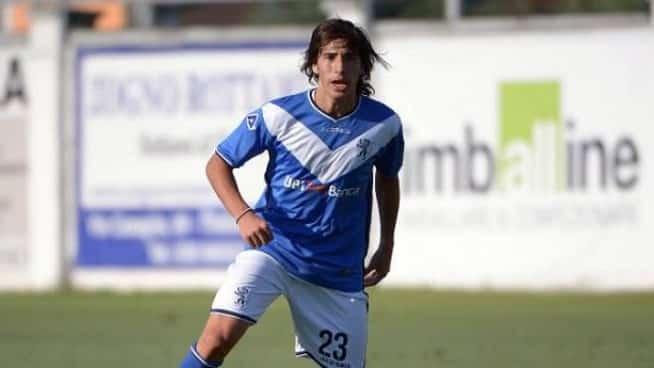 Sandro Tonali protagonista con la maglia del Brescia.