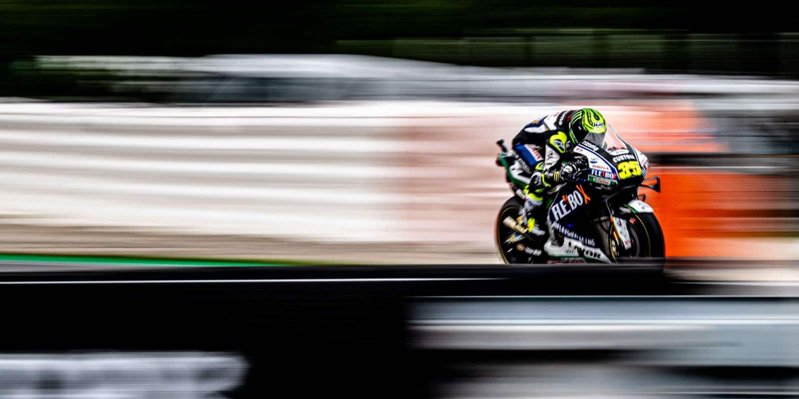 Crutchlow Michelin - Photo Credit: Monster Energy