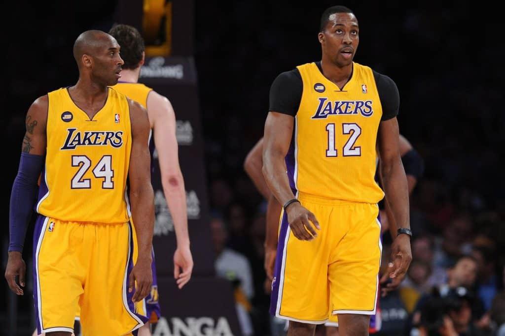Howard durante la stagione 2012-13: i problemi con Bryant furono uno dei tanti motivi del fallimento di quei Lakers