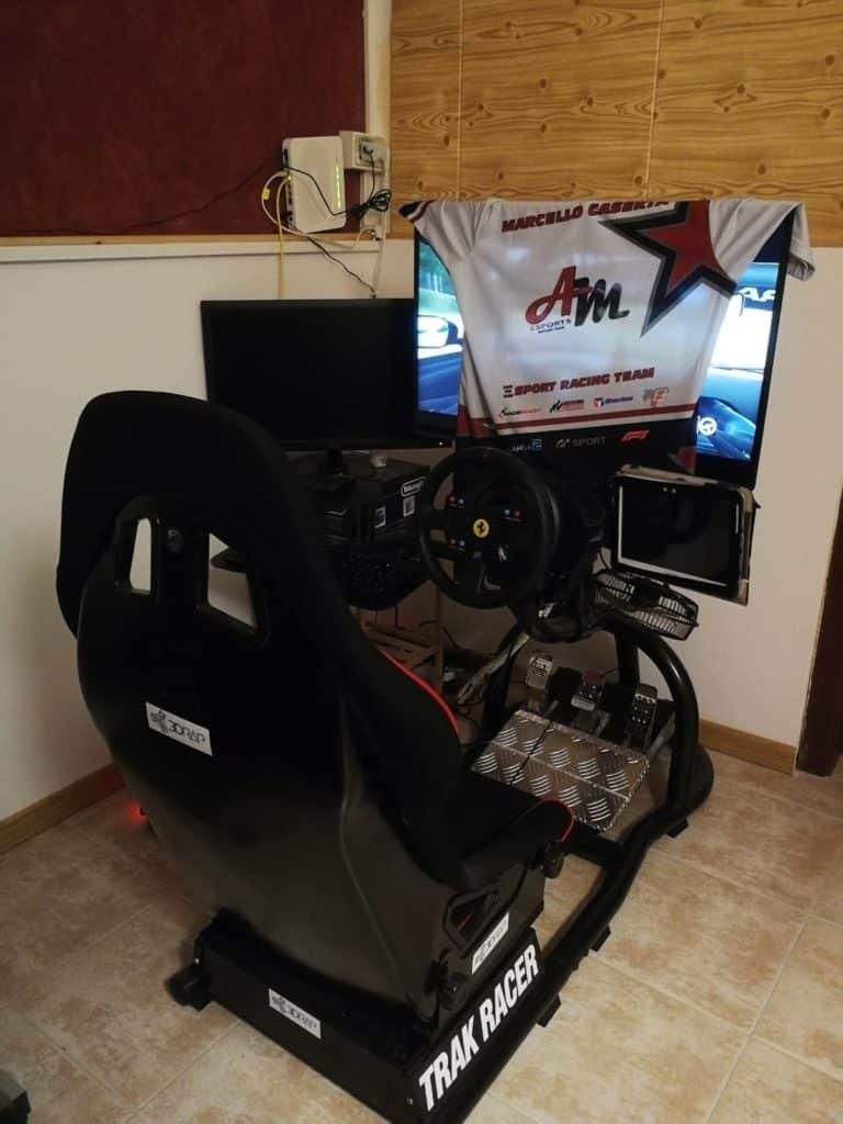 Postazione Marcello Caserta Adac GT Masters eSports