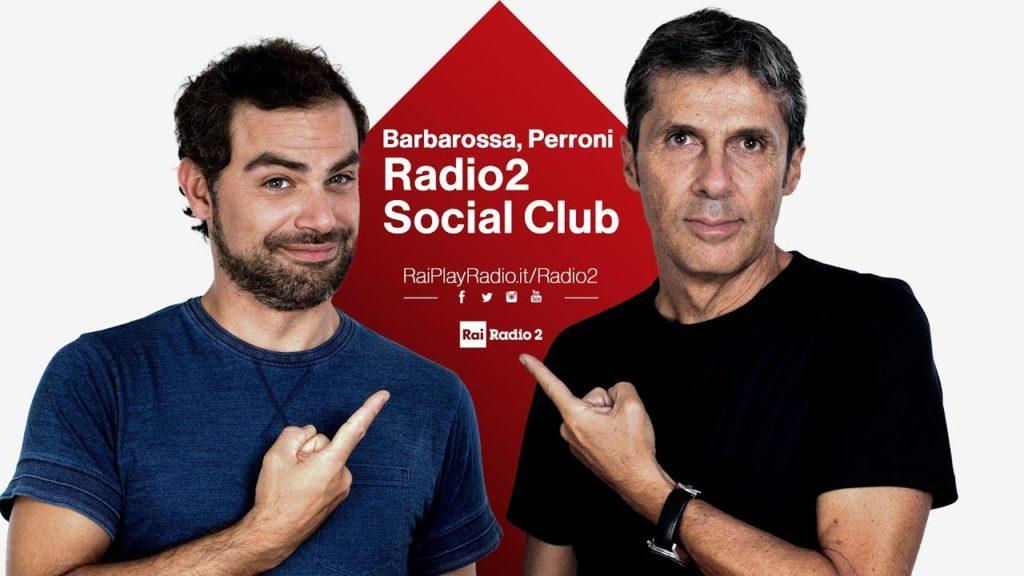 """Nuovi programmi Rai: """"Radio 2 Social Club"""" anche su Rai 2 - Photo Credit: Youtube"""