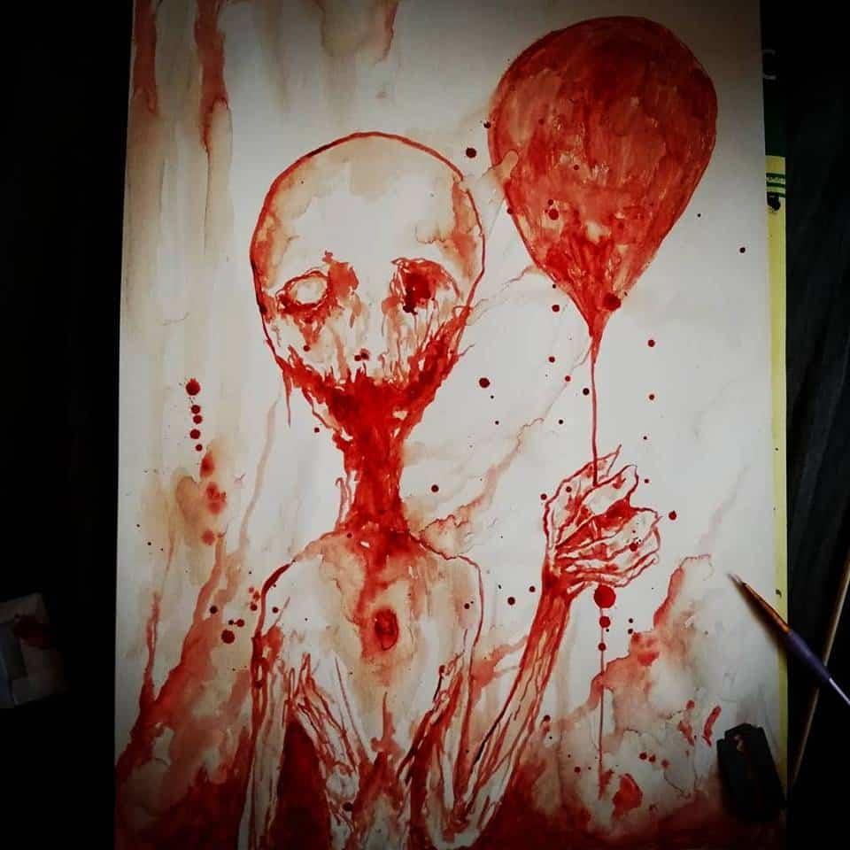 Last drop of innocence - Maxime Taccardi - Cartoni animati horror