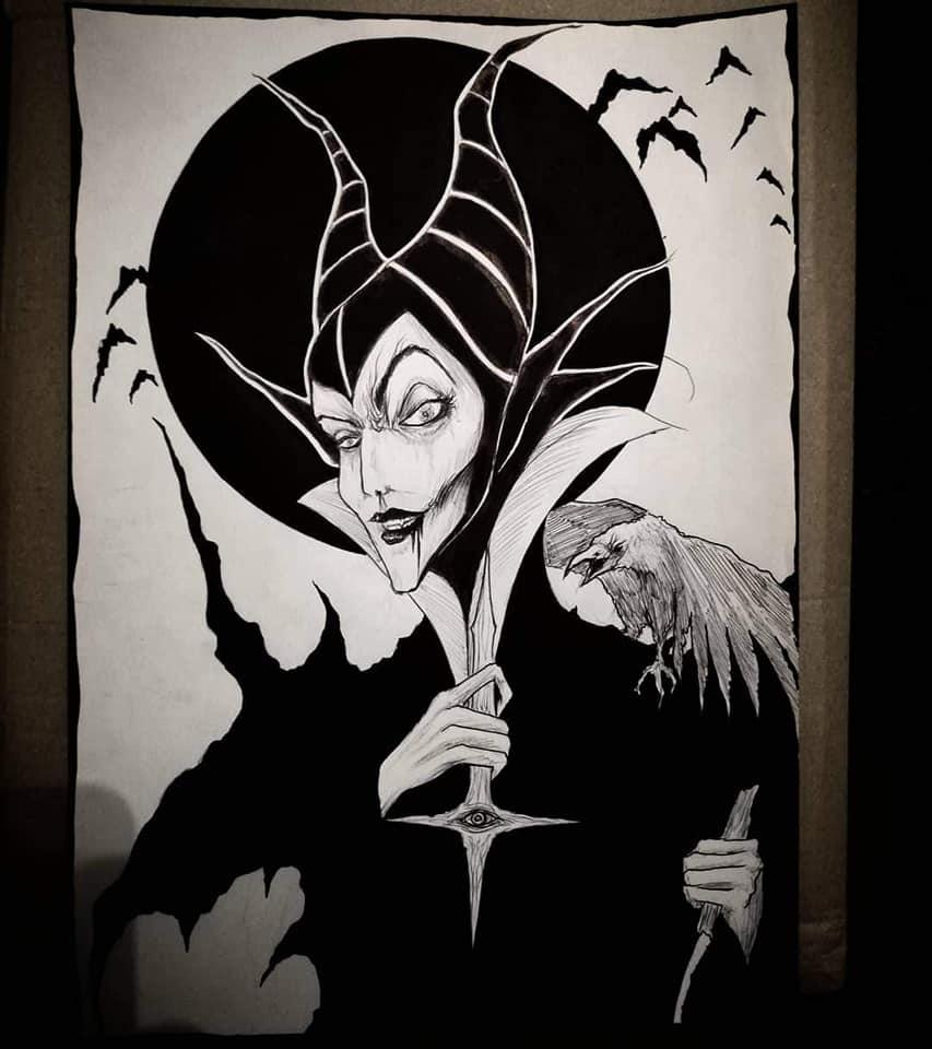 Dark Maleficent - Maxime Taccardi - Cartoni animati horror